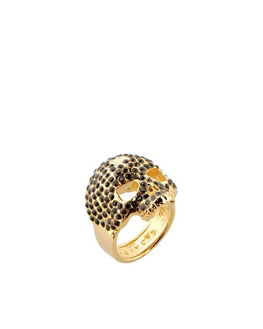 John Richmond - Metallic Ring for Men - Lyst