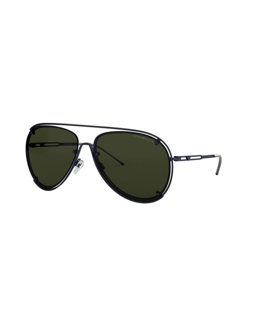 2970eac7aeca Emporio Armani - Blue Sunglasses for Men - Lyst ...