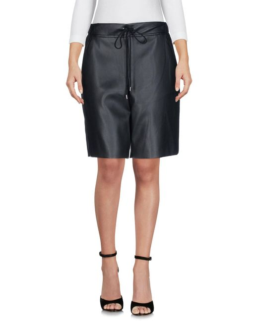 Giamba - Black Bermuda Shorts - Lyst
