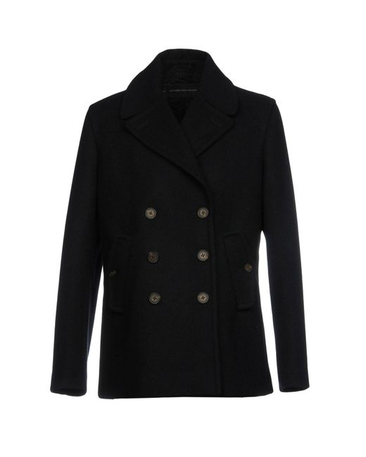 French Connection - Blue Coat - Lyst