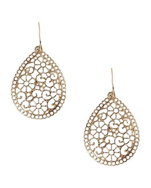 Kenneth Jay Lane Metallic Earrings