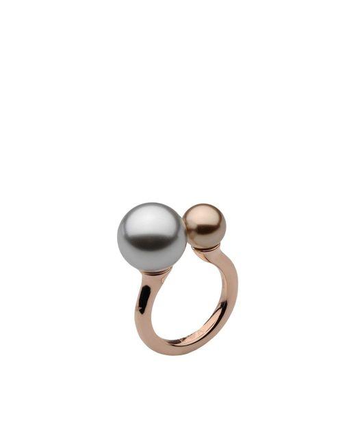 Emporio Armani - Metallic Ring - Lyst