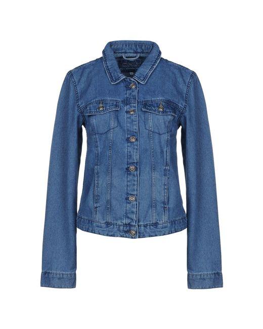 ONLY - Blue Denim Outerwear - Lyst