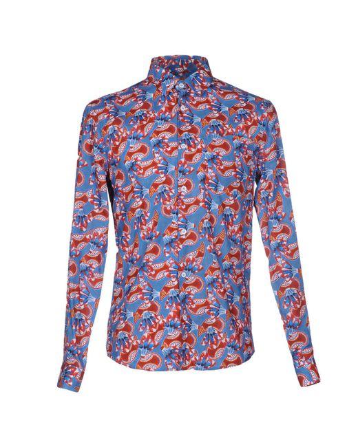 Éditions MR - Blue Shirt for Men - Lyst