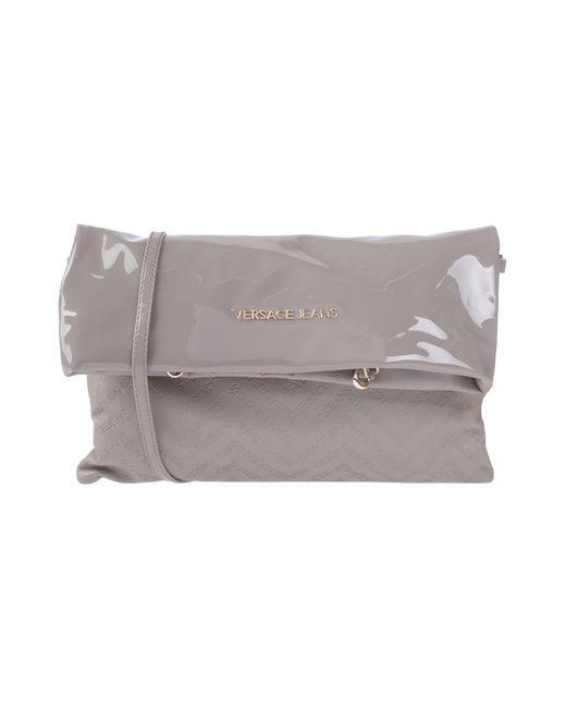 Versace Jeans - Gray Handbag - Lyst