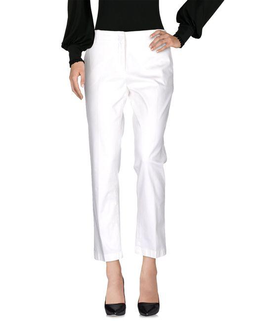 Aspesi | White Casual Trouser | Lyst