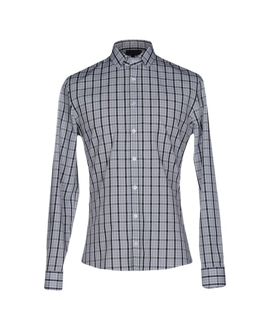 Les Hommes - Black Shirt for Men - Lyst