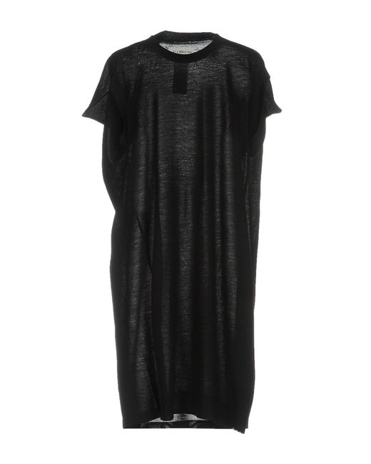 Maison Margiela - Black Short Dress - Lyst