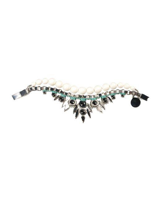 Ellen Conde | White Bracelet | Lyst