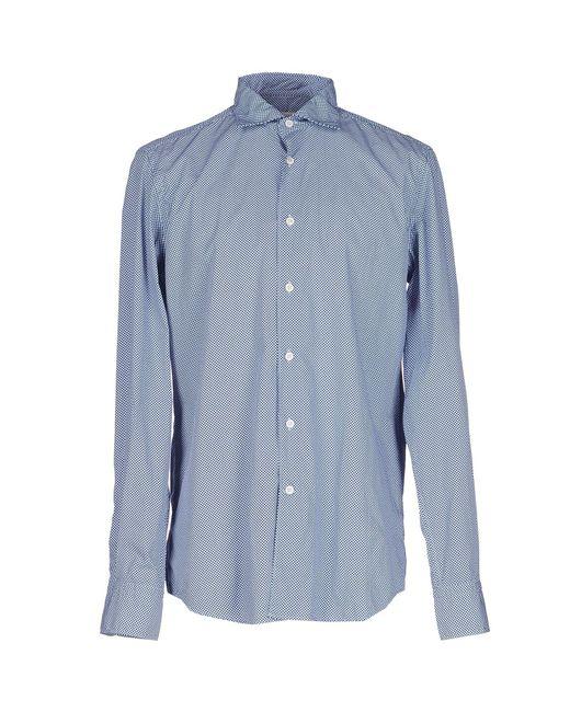 Hamptons - Blue Shirt for Men - Lyst