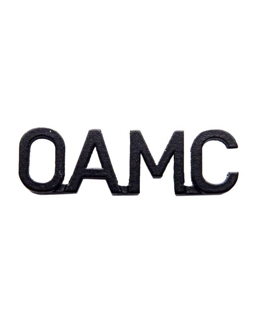 OAMC - Black Brooch - Lyst