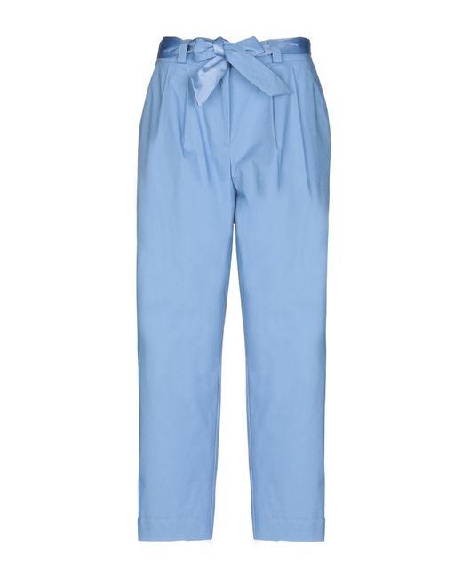 Soallure - Blue Casual Trouser - Lyst