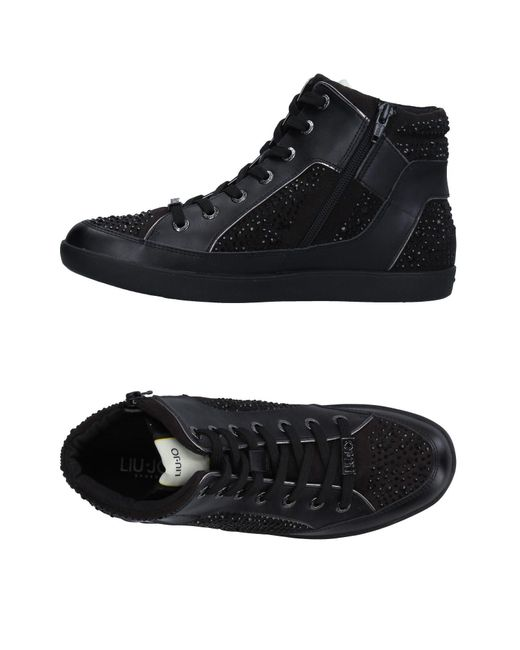Liu Jo - Black High-tops & Sneakers - Lyst