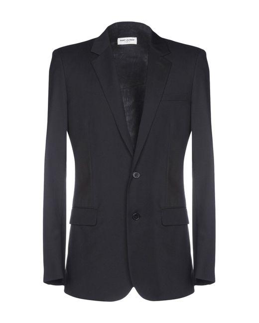 Saint Laurent - Black Blazer for Men - Lyst