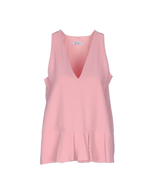 Dondup - Pink Top - Lyst