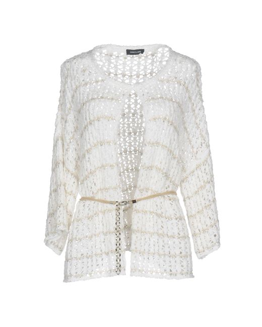Anneclaire - White Cardigan - Lyst