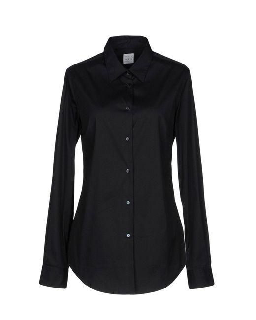 Sara Roka - Black Shirt - Lyst