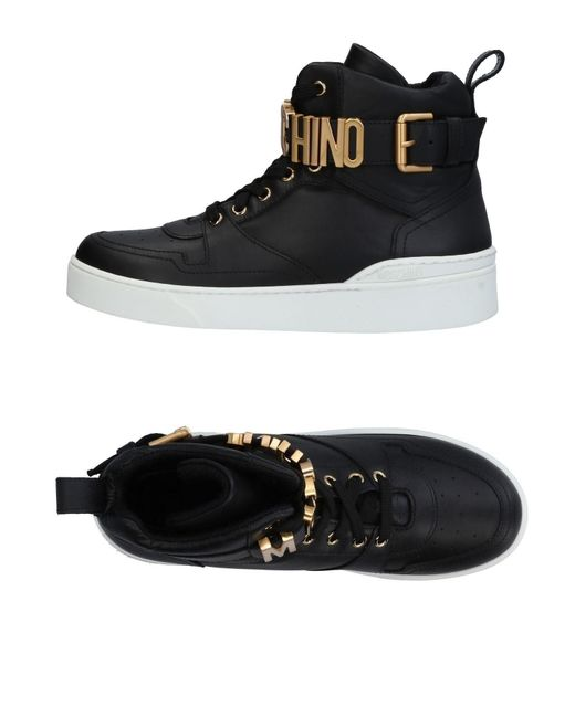 Moschino - Black High-tops & Sneakers - Lyst