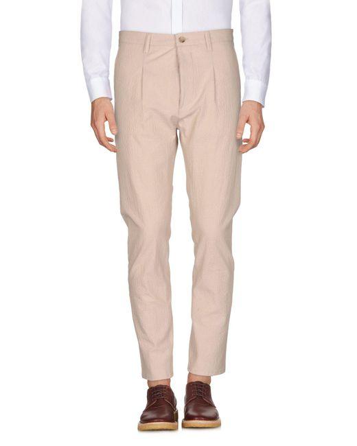 Cruna - Natural Casual Trouser for Men - Lyst