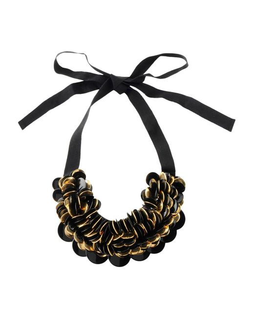 P.A.R.O.S.H. | Black Necklace | Lyst