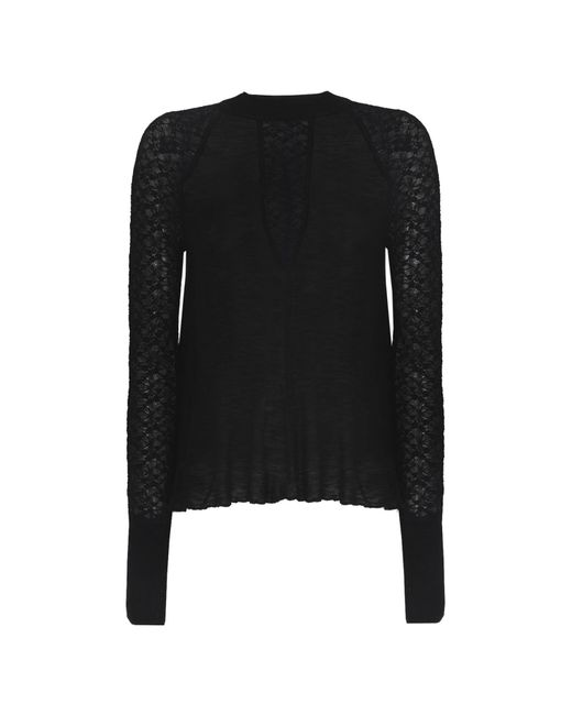 0eb9320de Lyst - Free People Jumper in Black