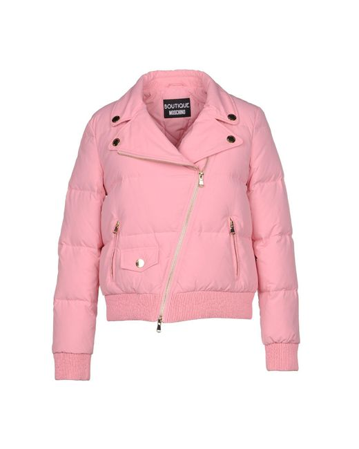 Boutique Moschino - Pink Down Jacket - Lyst