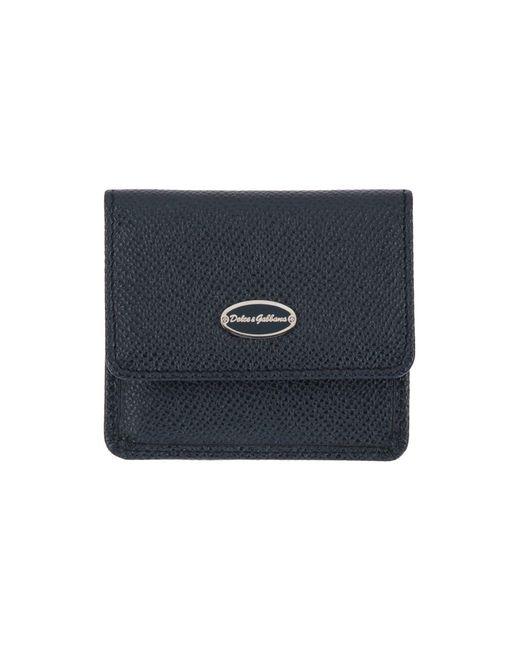 Dolce & Gabbana - Blue Coin Purse for Men - Lyst