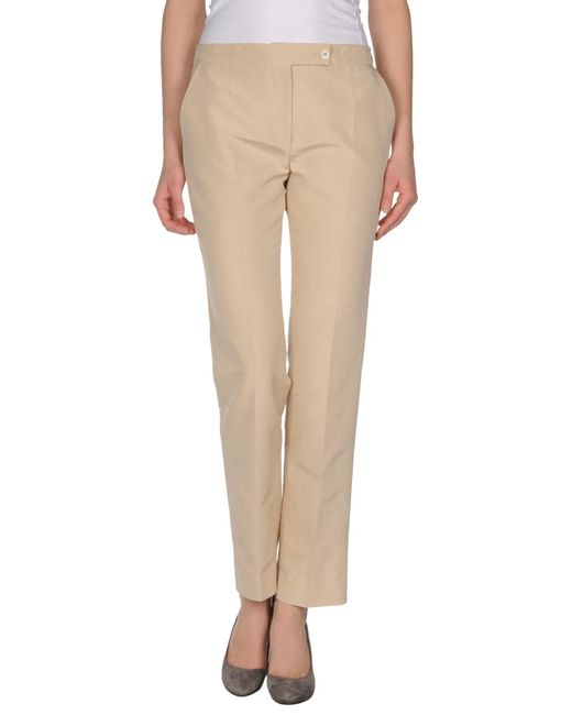 Valentino Roma - Natural Casual Pants - Lyst