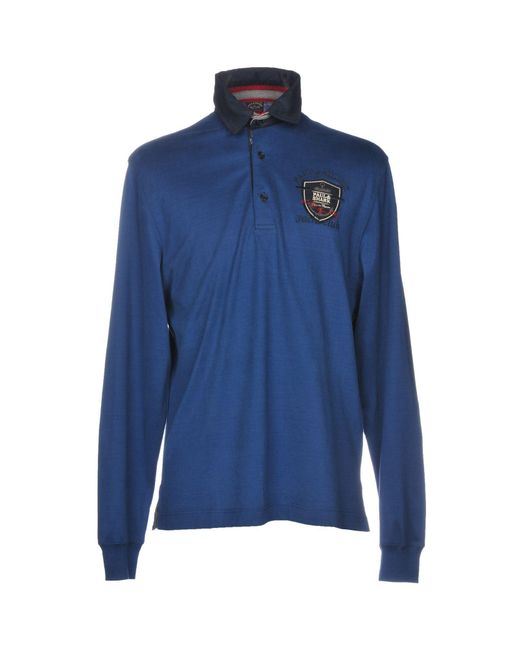 Paul & Shark - Blue Polo Shirts for Men - Lyst