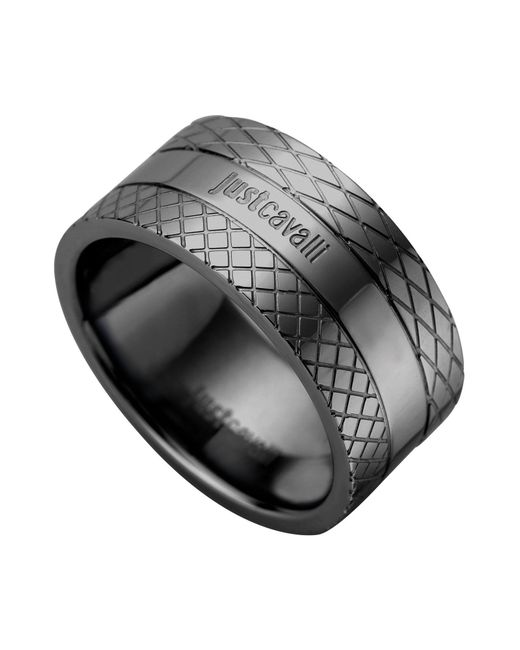 Just Cavalli - Black Rings - Lyst