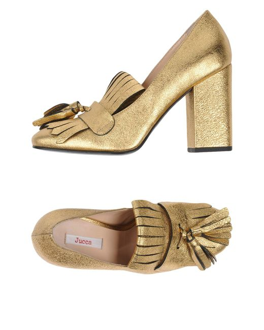 Jucca - Metallic Loafer - Lyst