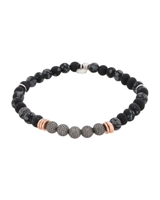 Tateossian - Black Bracelet - Lyst