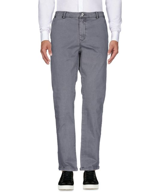 Red Soul - Gray Casual Trouser for Men - Lyst