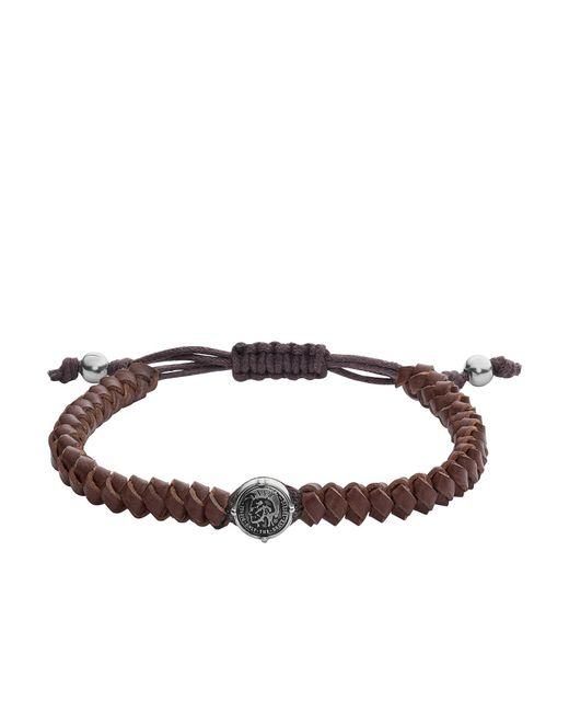 DIESEL   Black Bracelet   Lyst