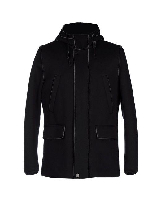 Paolo Pecora - Black Coats for Men - Lyst