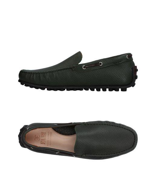 Fabi - Green Loafer for Men - Lyst