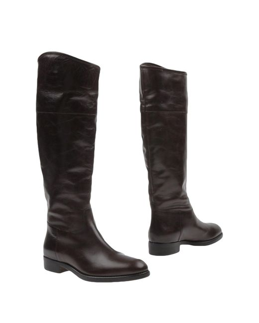 The Seller - Brown Boots - Lyst