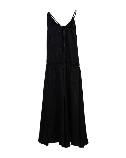 Maison Margiela - Black Long Dress - Lyst