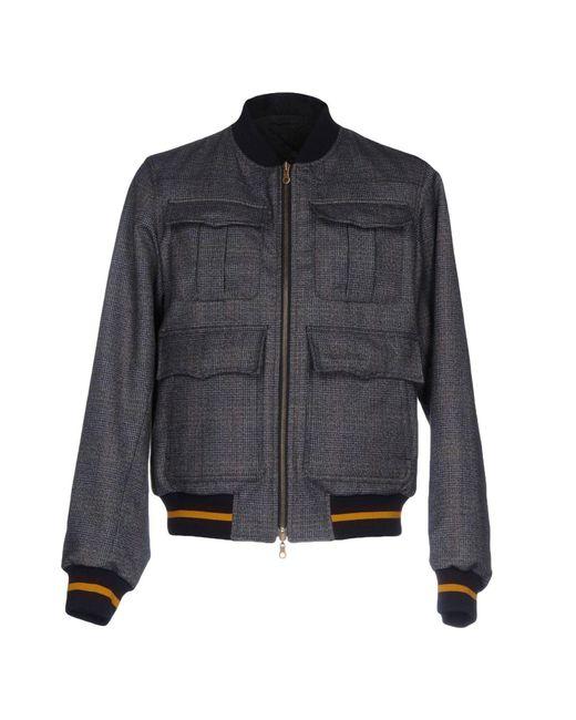 Dries Van Noten | Blue Jacket for Men | Lyst
