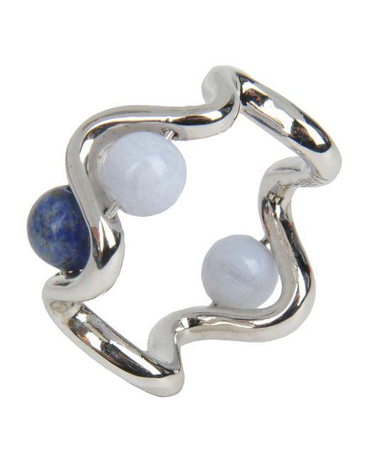 Uribe - Metallic Ring - Lyst