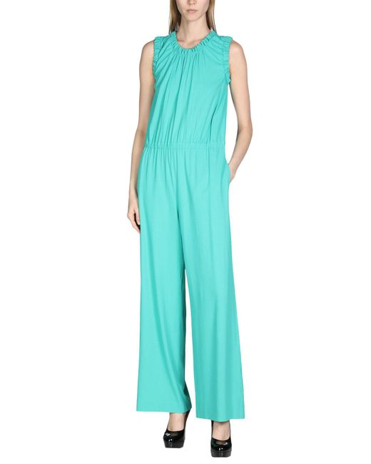 M Missoni - Green Jumpsuit - Lyst