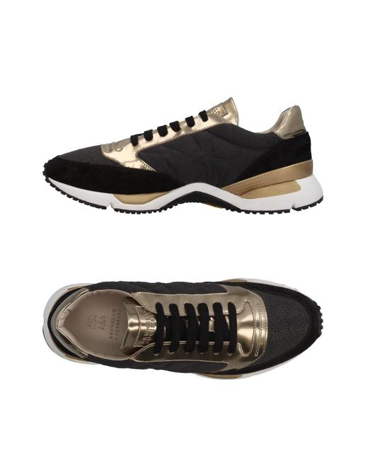 Brunello Cucinelli - Black Low-tops & Sneakers - Lyst