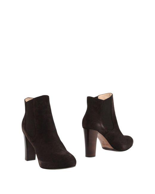Lella Baldi | Brown Ankle Boots | Lyst