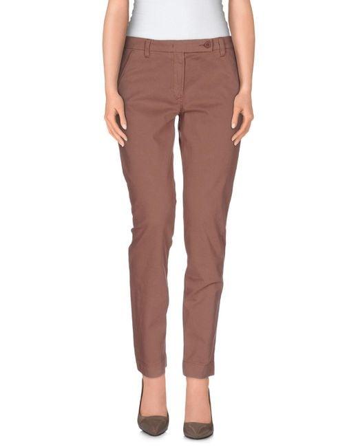 Incotex - Pink Casual Pants - Lyst
