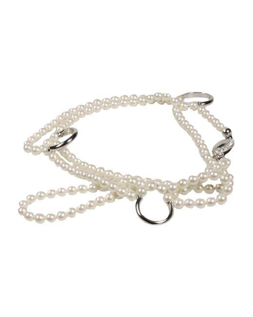 Maison Margiela - White Bracelet - Lyst