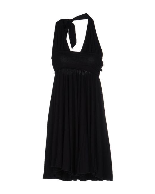 Sportmax - Black Short Dress - Lyst