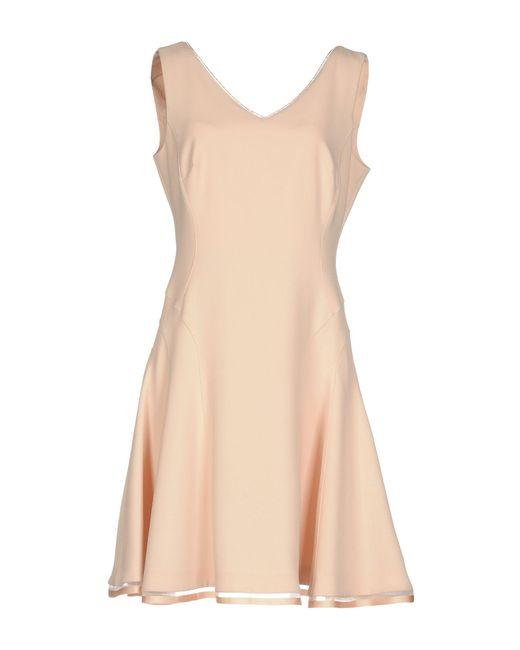 22 Maggio By Maria Grazia Severi - Pink Short Dresses - Lyst