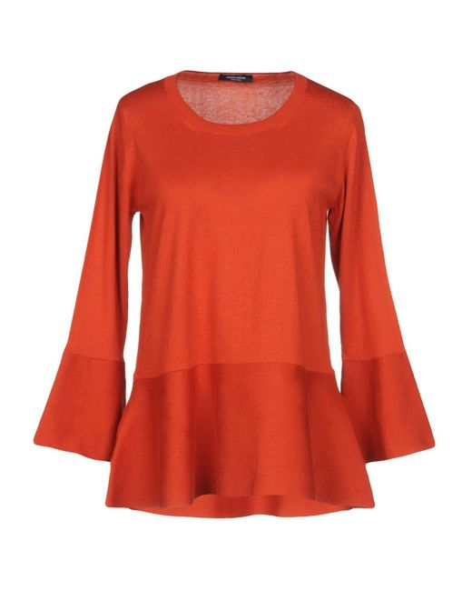 Roberto Collina - Red Sweaters - Lyst