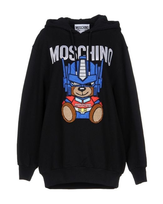 Moschino - Black Sweatshirt - Lyst