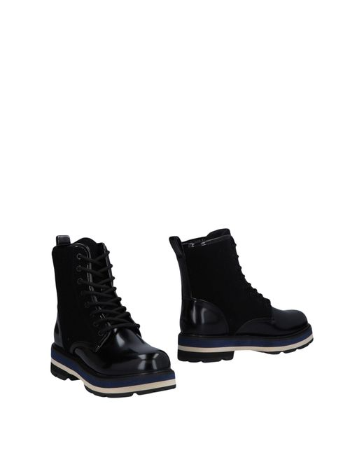 CafeNoir - Black Ankle Boots - Lyst